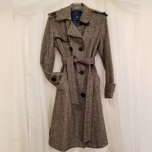 GAP Sherlock Holmes Herringbone Wool Coat